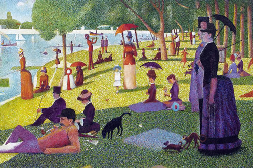 georges seurat a sunday on la grande jatte essay Watch the link of the video,and write the feedback separately for each one 1 view the video about georges seurat's 'sunday afternoon at la grande jatte.